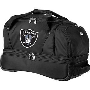 """Oakland Raiders 22"""" Rolling Duffel"""