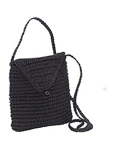 Crochet Paper Crossbody Pouch by Magid