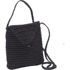 Crochet Paper Crossbody Pouch