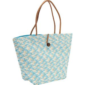 Paper Straw Braided Tote