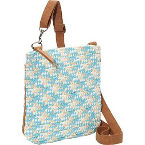 Paper Straw Braided Crossbody
