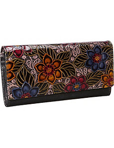 Hand Crafted French Wallet Clutch by Derek Alexander