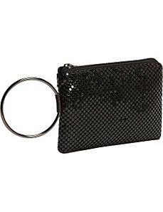 Metal Mesh Wristlet by Magid