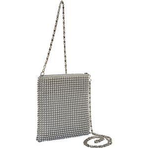 Ball Metal Mesh Crossbody Bag
