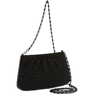 Ball Metal Mesh Crossbody Pouch