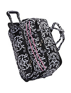 Damask Soft Carry All Duffel by Jenni Chan
