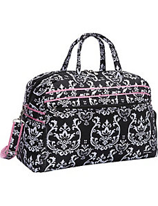 Damask Soft Gym Duffel by Jenni Chan