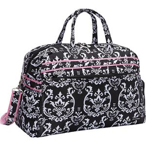 Damask Soft Gym Duffel