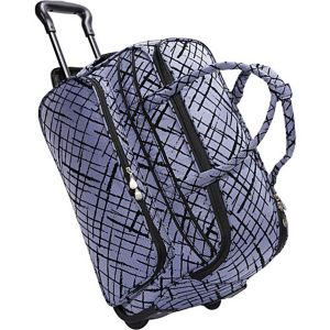Brush Strokes Soft Carry All Duffel