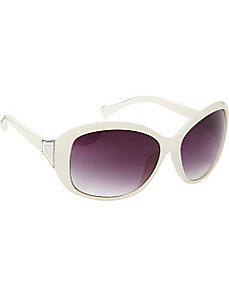 Oval Glam Sunglasses by Jessica Simpson Sunwear