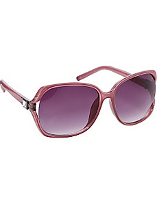 Rectangular Frame Sunglasses by Jessica Simpson Sunwear