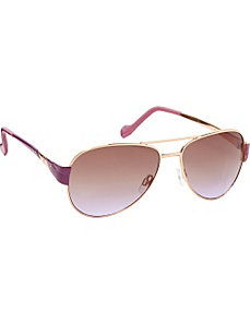 Aviator Stone Detail Sunglasses by Jessica Simpson Sunwear