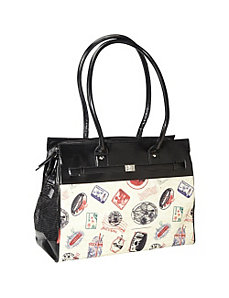 Postal Monaco Pet Tote by Bark n Bag
