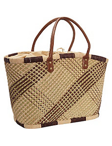 Shopper-Plaid by Straw Studios