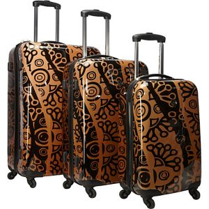 Canberra 3 Piece Hardside Spinner Luggage Set