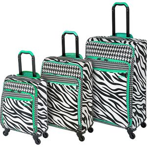 Aeorlite Zebra 3 Piece Spinner Set
