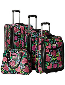 Paolo Pascal Cuore 4 PC Rolling Set by Travel Concepts