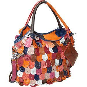 Rainbow Peacock Handbag