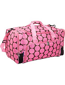 Big Dot Pink Weekender Duffel by Wildkin