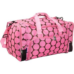 Big Dot Pink Weekender Duffel