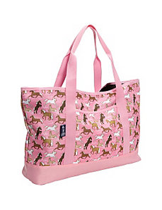 Horses in Pink Tote-All Bag by Wildkin