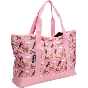 Horses in Pink Tote-All Bag