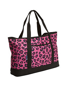 Pink Leopard Tote-All Bag by Wildkin