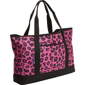 Pink Leopard Tote-All Bag