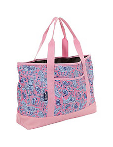 Watercolor Ponies Pink Tote-All Bag by Wildkin