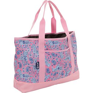 Watercolor Ponies Pink Tote-All Bag