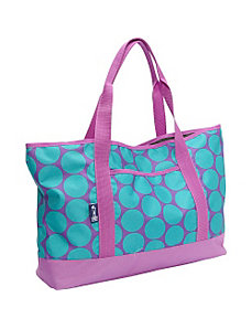 Big Dot Aqua Tote-All Bag by Wildkin
