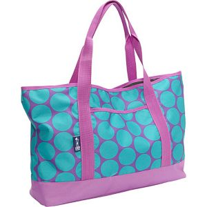Big Dot Aqua Tote-All Bag