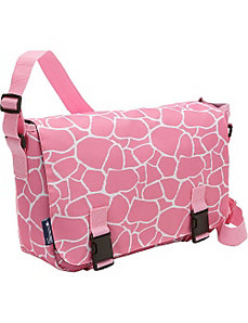 Pink Giraffe Jumpstart Messenger by Wildkin