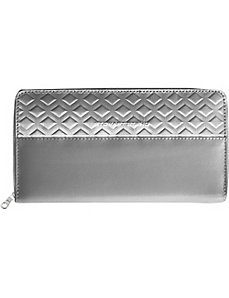 Zipper Travel Stainless Steel Wallet - RFID by Stewart Stand