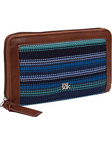 The Sak Classic Accessories Zip Around Wallet by The Sak