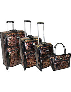 Buckingham 4 Piece Spinner Luggage Set by Adrienne Vittadini