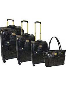 Southampton 4 Piece Spinner Luggage Set by Adrienne Vittadini
