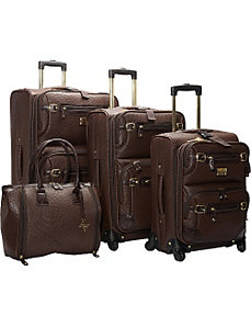 Union Square 4 Piece Spinner Luggage Set by Adrienne Vittadini