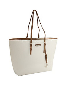 "Saffiano 15""' East West Laptop Tote by Adrienne Vittadini"