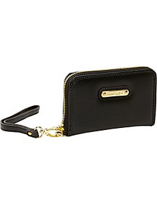 Geo Clash Zip Around Wallet/Wristlet by Anne Klein