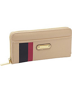 Geo Clash Zip Around Wallet by Anne Klein