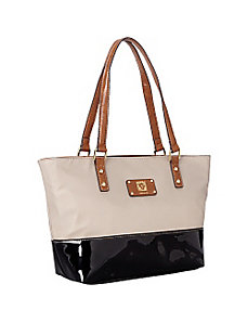 Petal Pushers Medium Tote by Anne Klein