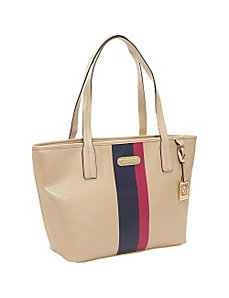 Geo Clash Medium Tote by Anne Klein