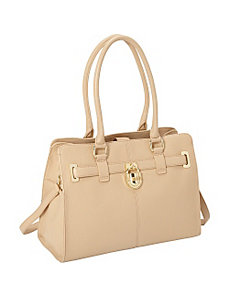 Modena Leather Tote by Calvin Klein