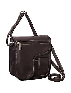 Crossbody On The Go by Le Donne Leather