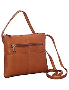 Three Slip Crossbody by Le Donne Leather