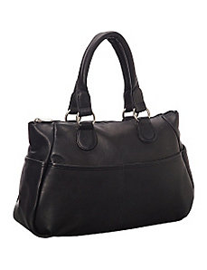 Slip Pocket Satchel by Le Donne Leather