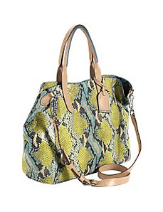 Crosby Snake Print Small Shopper by Cole Haan