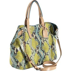 Crosby Snake Print Small Shopper