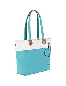 Haven Canvas Logo Tote by Cole Haan